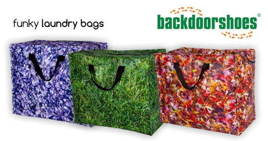 Funky Laundry Bags from Backdoorshoes EU